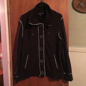 Jones Ny black jacket sz XL